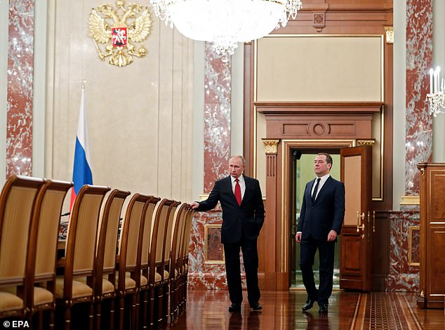 Analysts believe that Putin wants to transform the presidency into a ceremonial role before stepping in as newly-empowered prime minister when his term ends in 2024 - a move that would allow him to rule for life