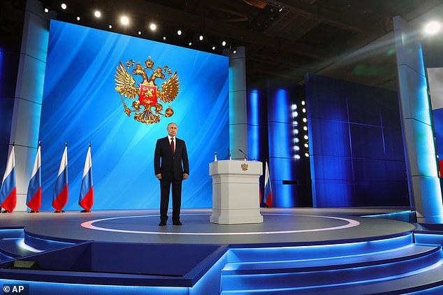 Medvedev announced his resignation following a speech in which Putin announced he would be making changes to the constitution to empower parliament