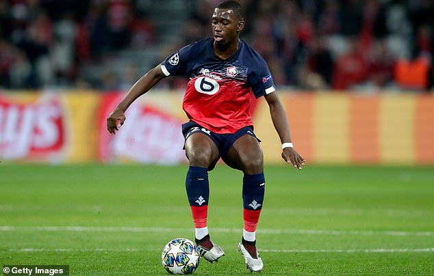 Soumare played six times in the Champions League when Lille crashed into the group stage