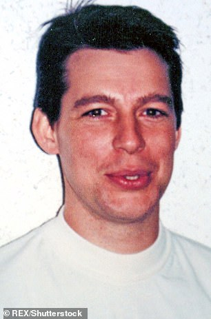 Jeremy Bamber is pictured in a police mugshot in connection to the murder case in 1985