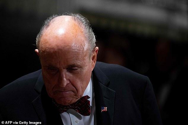 Rudy Giuliani told The Washington Post he felt sorry for Parnas