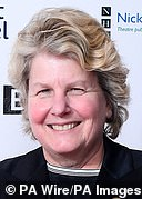 Toksvig in London at an event on Monday