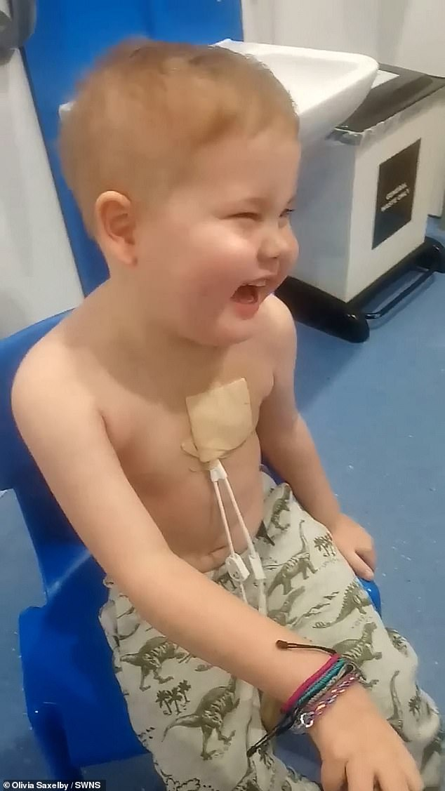 After a match was found, it was hoped to be the first step to curing Oscar, who had rare T-cell acute lymphoblastic leukaemia