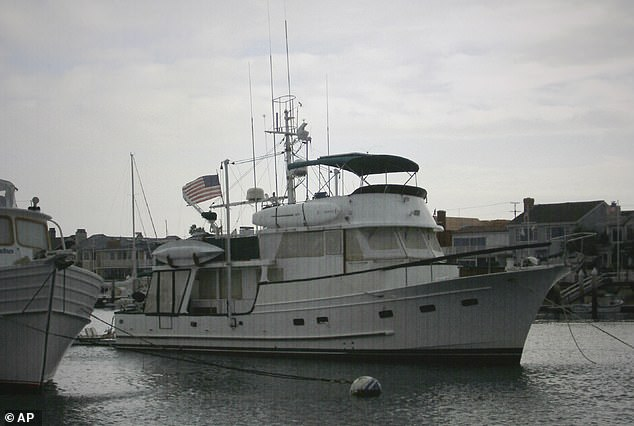 The Well Deserved, the 55-yacht which Tom and Jackie had saved years to buy and enjoy in retirement