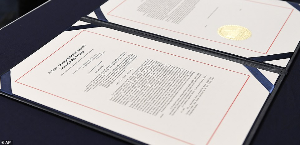 The articles: This is the document read by Adam Schiff in the well of the Senate