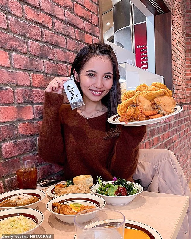 Thousands of hungry diners are flocking to Tokyo to dine at all-you-can-eat KFC