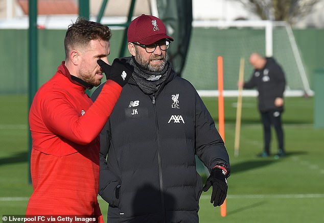 """Klopp """"to give players a week off training rather than taking them overseas"""" during the winter break """""""