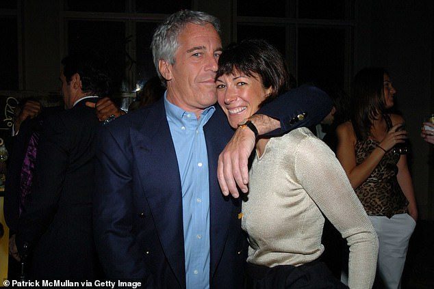 Tea parties with Ghislaine Maxwell (pictured with Jeffrey Epstein in 2005) sound like something to avoid