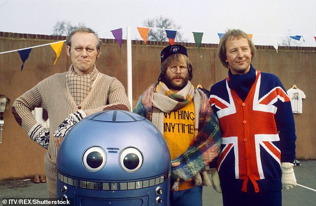 Bill had previously starred in The Goodies. From left to rightGraeme Garden, Bill Oddie, Tim Brooke-Taylor