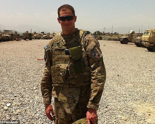 Peek served as a U.S. Army intelligence officer who worked under General John Allen in Afghanistan