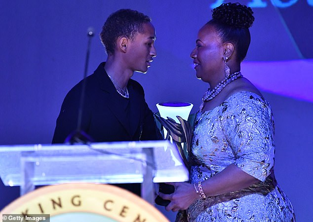 Living legacy: It was presented by Bernice A King, King Center CEO and the youngest child of Martin and Coretta