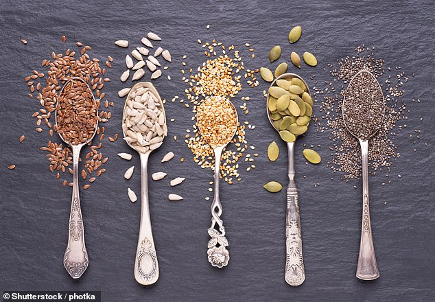 Dr Jenny Goodman recommends sprouting as a detox - she suggests alfalfa, broccoli, aduki beans, sunflower seeds and chickpeas (file image)