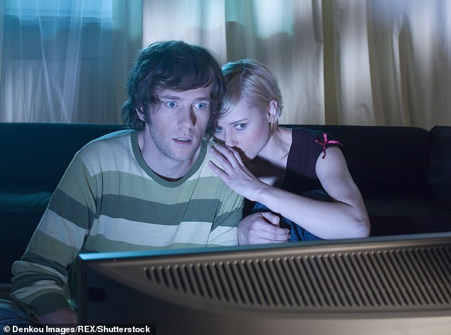 Binge-watching TV box sets might be your ideal way to spend the weekend. But if you are a migraine sufferer, it¿s best to avoid them, says Dr Andy Dowson [File photo]