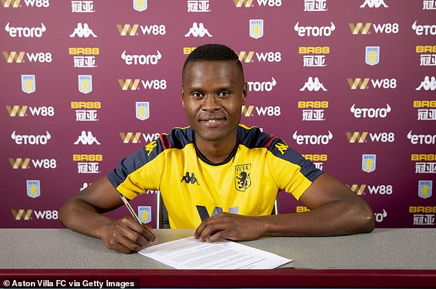 Aston Villa have completed the signing of striker Mbwana Samatta from Belgian side Genk