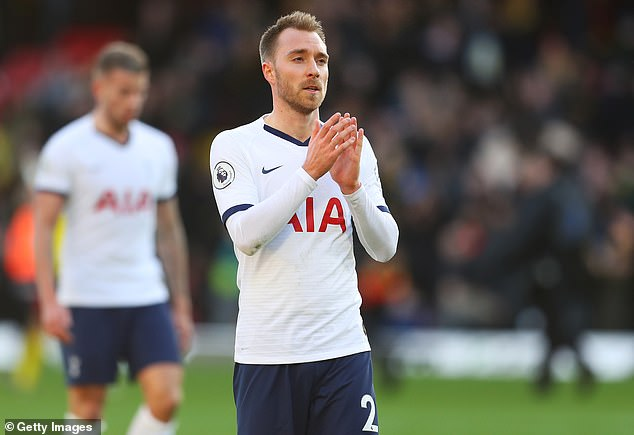 Tottenham will allow Christian Eriksen to leave for Inter Milan only if the Serie A team progresses by £ 17 million