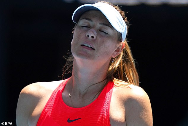 Maria Sharapova admits she is unsure if she will be competing at the Australian Open next year