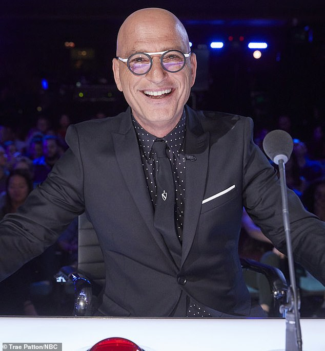 America S Got Talent The Champions Howie Mandel Presses Golden