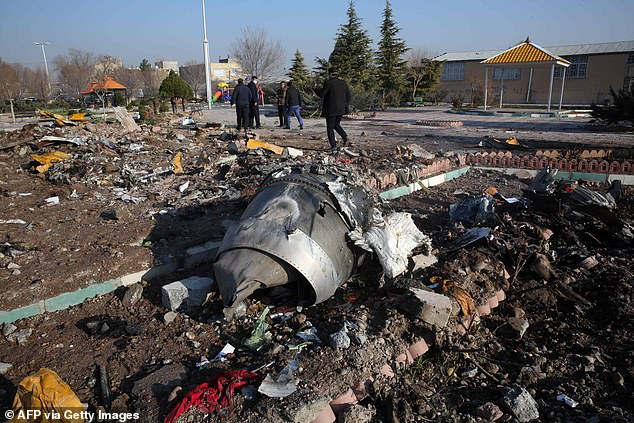 Iran had denied for several days that two missiles downed the aircraft. But then the U.S. and Canada, citing intelligence, said they believe Iran shot down the aircraft. The crash site has since been cleared