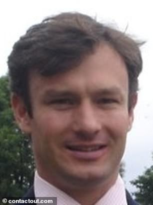 Robert Clegg (pictured) is accused of sexual discrimination and is facing a tribunal in Stratford, East London