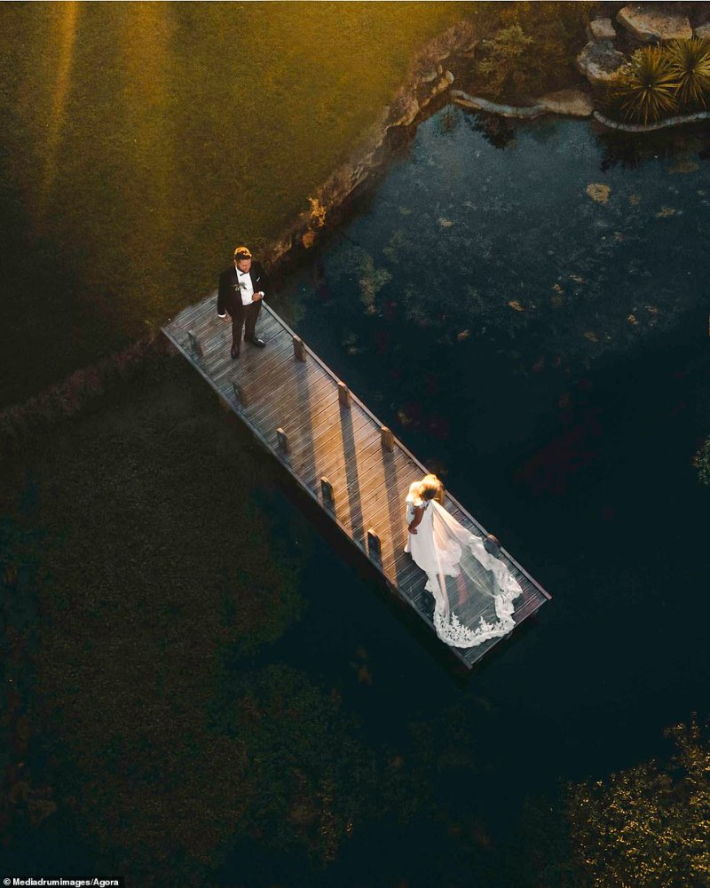 'Friends for Life' is the title of this dreamy shot of a couple on their wedding day in Bristol, captured by local @perksy12