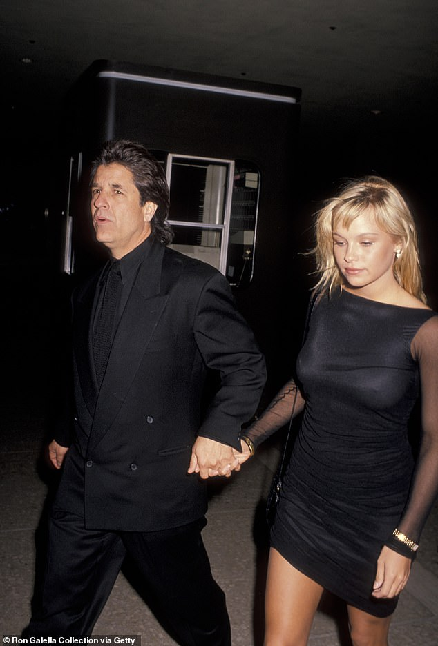 The good ole days:The two have a history: they dated more than 30 years ago and reunited only recently. Seen in 1989