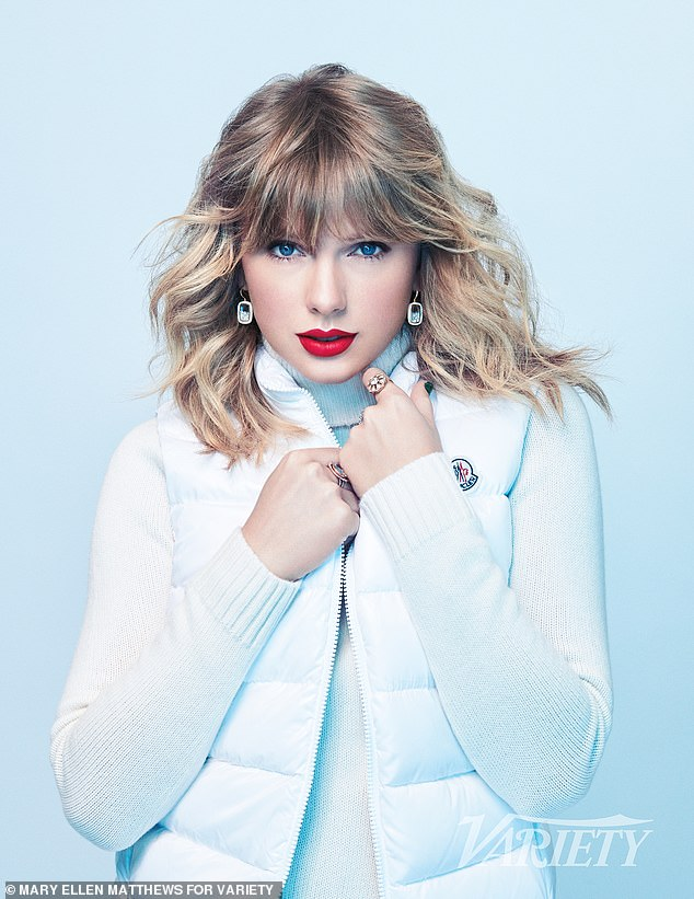 Tough stuff:And though the family has kept private about the matter, Taylor was candid in the interview, where she explained how 'hard' this new turn has been for her family