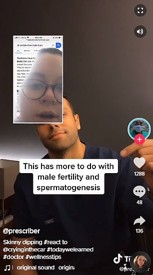 Debunked: Dr. Kirten Parekh, a 31-year-old foot and ankle surgeon in New Jersey, made his own TikTok clip discrediting the claims