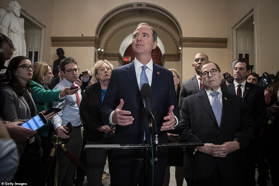 Adam Schiff, the House Intelligence Committee chairman who will lead the Democrats' prosecution of Donald Trump called the rules an attempt to 'rig' the trial.
