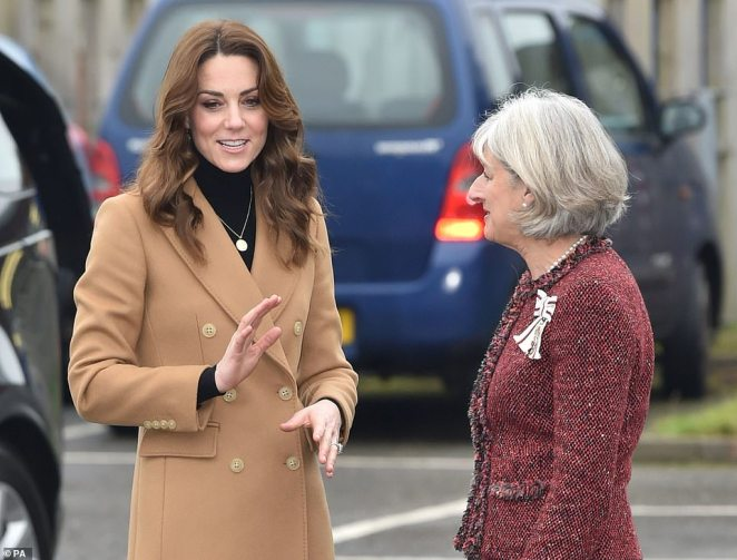 The Duchess of Cambridge arrives in Cardiff today as she carries out a 24-hour tour of the country to launch her new survey