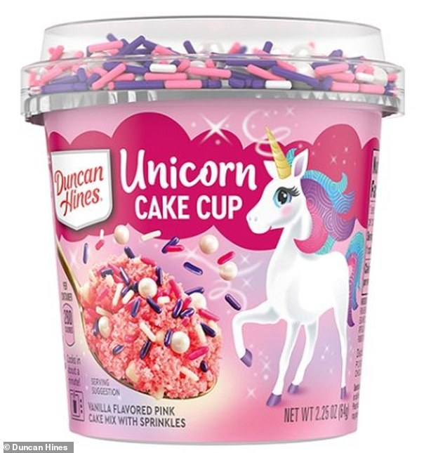 Eat up!The brand also unveiled new Unicorn, Mermaid, and Galaxy cake cups