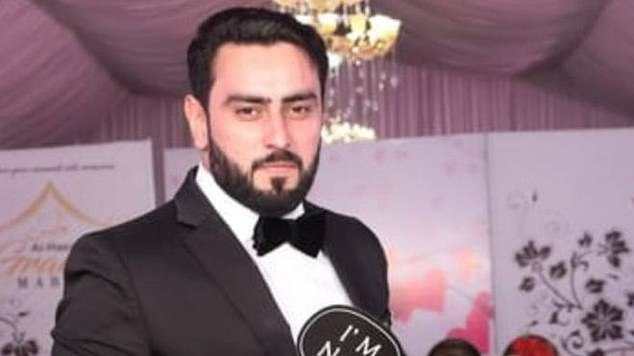 Jahangir Hussain (pictured), 29, from Blackburn, Lancashire, was fatally shot as he left his mother's home in the city of Jhelum on January 9