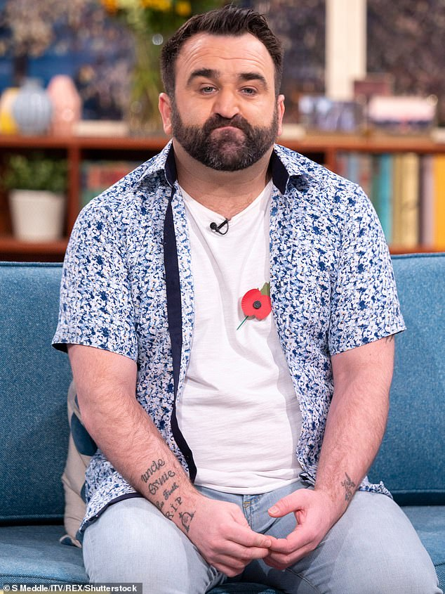 Danny Tetley (pictured above) has been sentenced to nine years for child sex offences