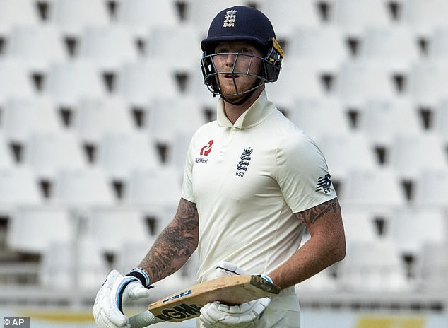 Stokes walks off after being dismissed for just two by South Africa on Friday