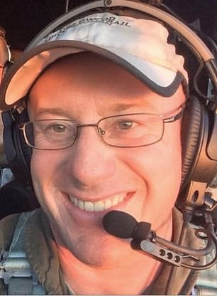 Pictured: Captain Ian McBeth, from Great Falls, Montana, was an experienced pilot who had dedicated years of his life to fighting fires in the military and with Coulson Aviation