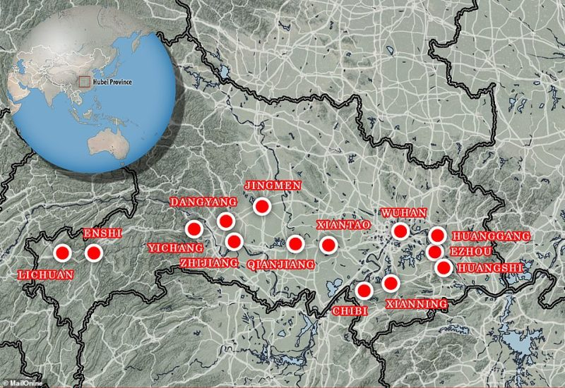 Fourteen cities across the Hubei province in China are restricting the movement of people ¿ by reducing or cancelling public transport and closing roads ¿ to try and stop the virus spreading