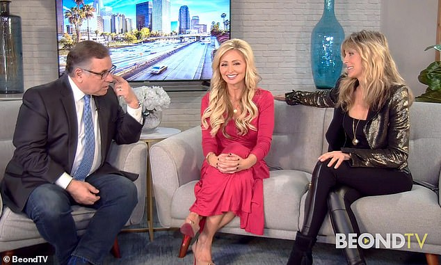 Opening up: The spiritual guru reflected on pregnancy and motherhood while appearing on the Carlos & Lisa show on BeondTV