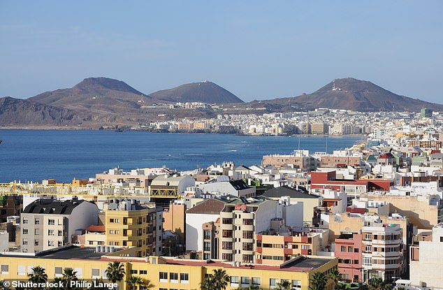 Meteorologists say Las Palmas has the most perfect climate in Europe, with an average temperature of 22c (72f)