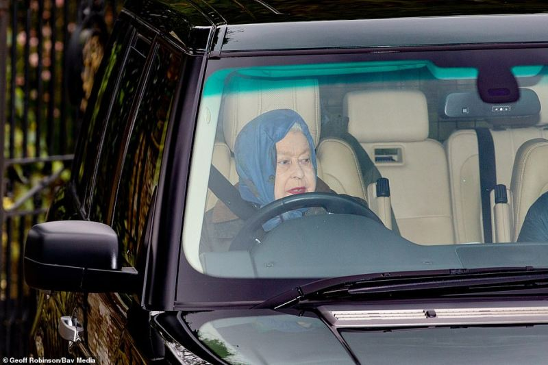 The Queen was unable to attend a WI meeting on Thursday, which she goes to every year at West Newton village hall, as part of her winter stay at Sandringham