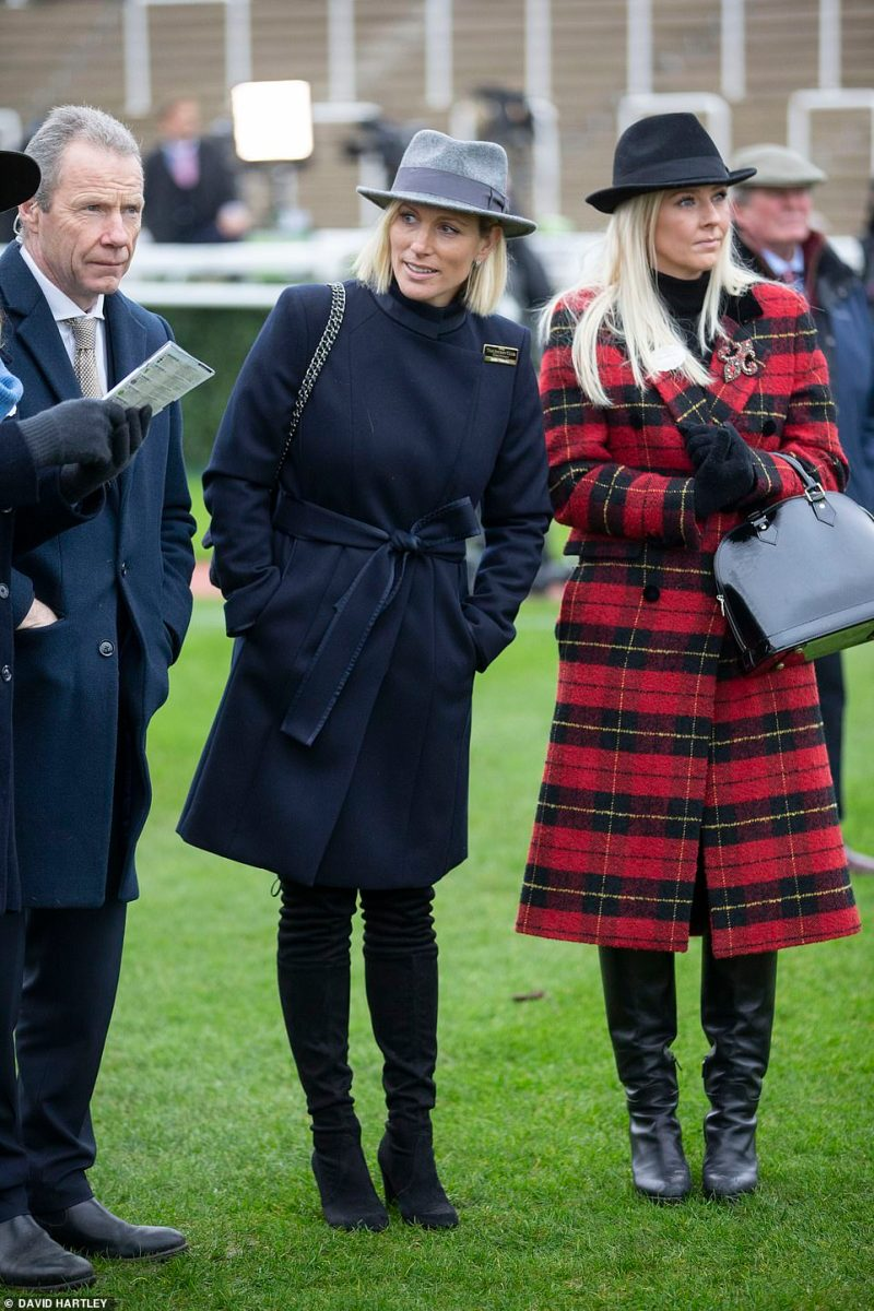 Zara Tindall in her new role as a Director at Cheltenham Race Course