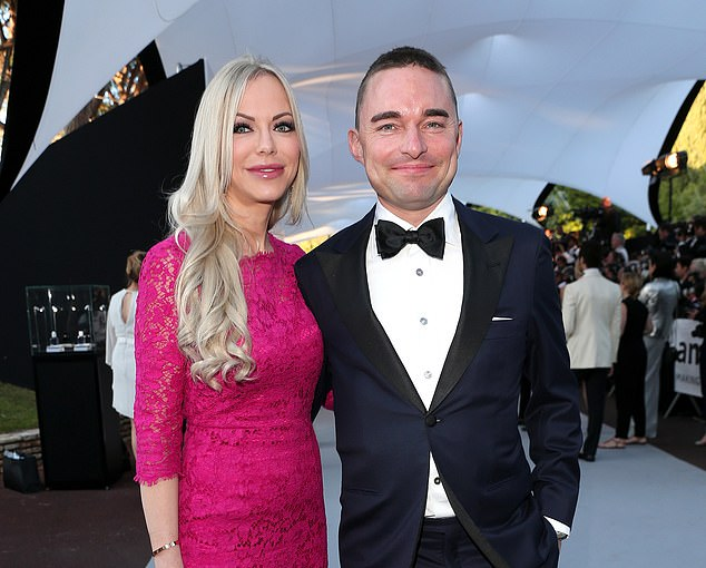 Controversy: Lars Windhorst with girlfriend Christine Barner
