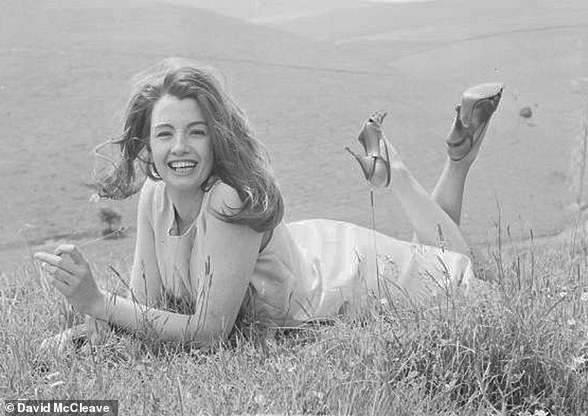 In June 1964 Christine Keeler was released from Holloway prison after serving half of a nine-month sentence for perjury. She is pictured on the day of her release