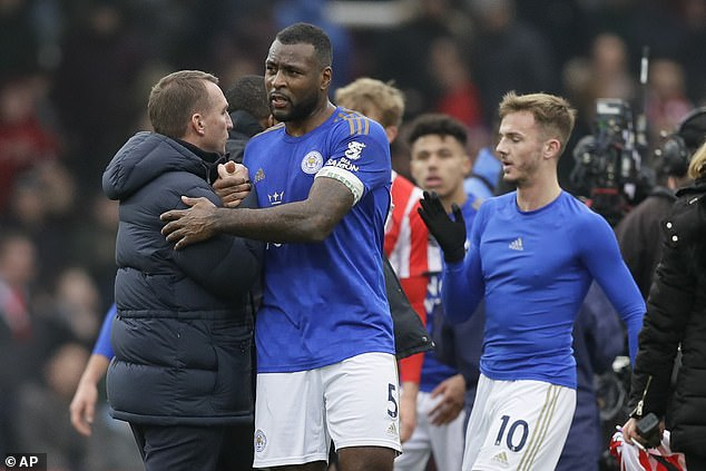 Leicester's title-winning veterans like Wes Morgan are still driving the current team forwards