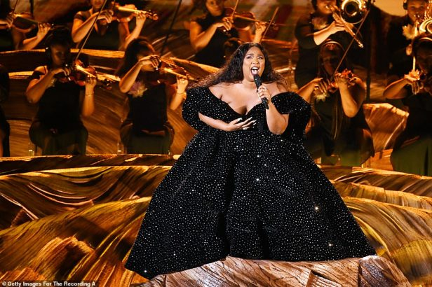 'This one's for Kobe': Lizzo opened the Grammy Awards by dedicating her performance to the late Kobe Bryant following his shock death on Sunday