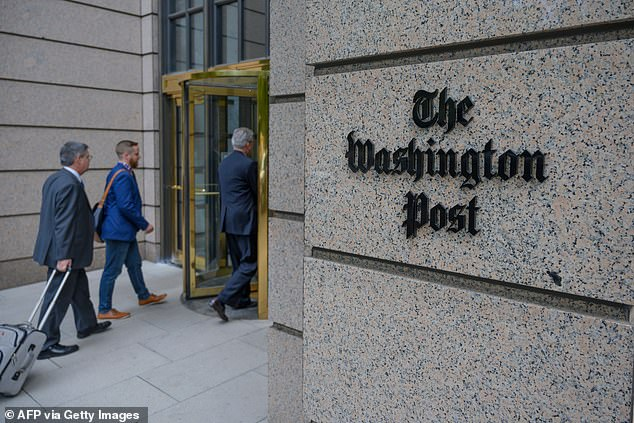Sonmez was placed on administrative leave by The Washington Post, the newspaper's managing editor, Tracy Grant, told DailyMail.com