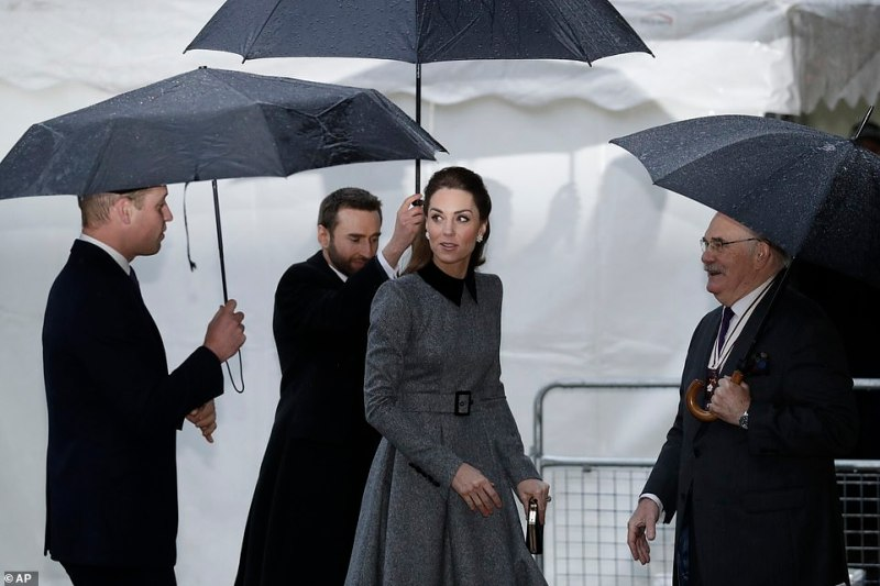 Kate's appearance comes after she released a set of moving photographs of Holocaust survivors inspired by the Dutch artist Johannes Vermeer