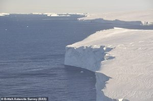 Global sea levels could rise by two feet as Antarctic 'Doomsday Glacier' melts faster than expected