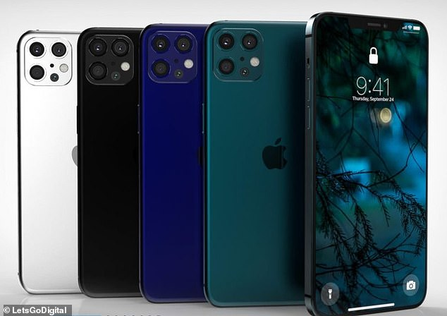 Concept Creator created renders of the iPhone 12 Pro and Pro Max models for LetsGoDigital, based on 'known information'