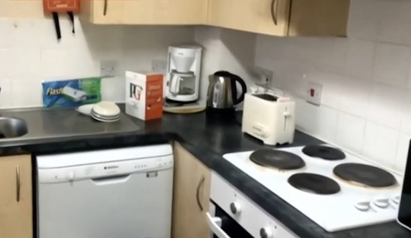 Mr Raw revealed that he can cook for himself inside the apartment, which he shares with his wife, mother and a woman and her daughter. There is a dishwasher, toaster and oven included in the apartment