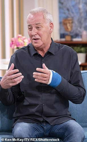 It comes after Barrymore, 67, (pictured) was forced to pull out of Dancing on Ice because of an injury