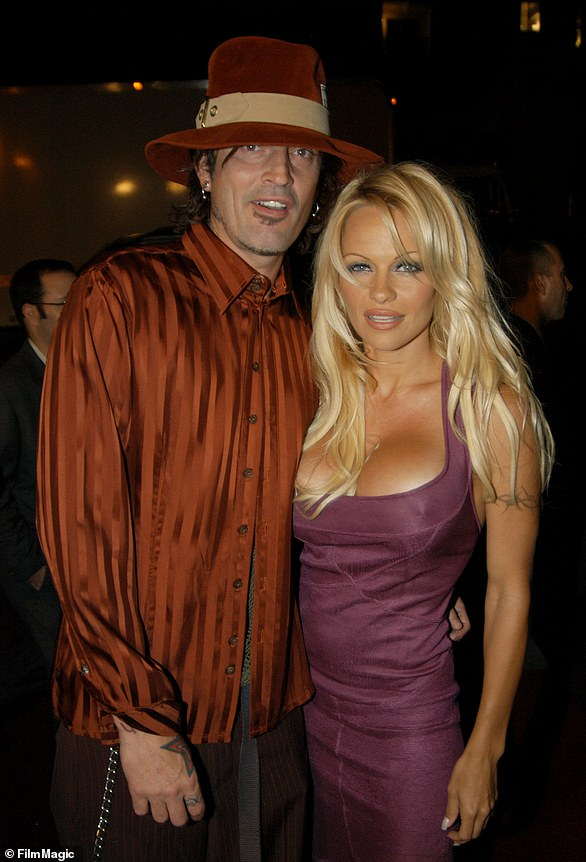 Tommy Lee and Pamela in 2003